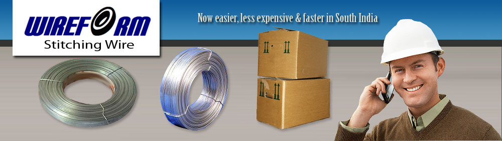 :: Wireform :: – Stitching wires, G.I. Wire and other allied wire products